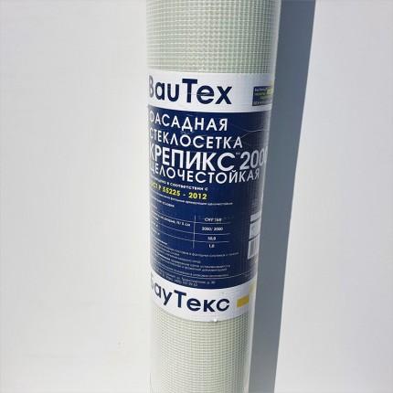 Bautex Крепикс сетка - 2600 100x5000 8x8мм Сетка усиленная 210г/м2, 50 м2, Арт. Kr2600
