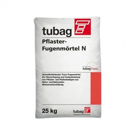 Quick Mix серия PFN  - Раствор для заполнения швов брусчатки Tubag N, Цвет: Тёмно-серый , Арт. 72717
