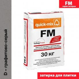 Quick Mix серия FM - Цветная смесь для заделки швов, Цвет: Графитово-серый, Арт. 72304
