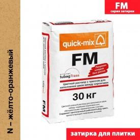 Quick Mix серия FM - Цветная смесь для заделки швов, Цвет: Жёлто-оранжевый, Арт. 72311
