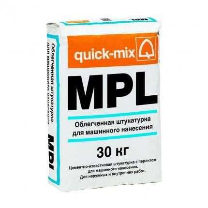 Quick Mix серия MPL - Лёгкая штукатурка, Арт. 72395