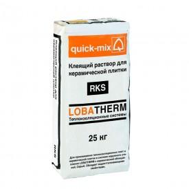 Quick Mix серия RKS - Клеящий раствор для керамической плитки, Цвет:  Серая, Арт. 72363